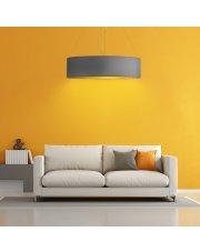 Lampa wisząca do salonu PORTO GOLD fi - 100 cm