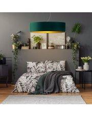 Lampa wisząca do sypialni PORTO GOLD fi - 80 cm