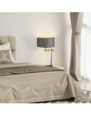 Lampa nocna na stolik nocny ALASKA GOLD