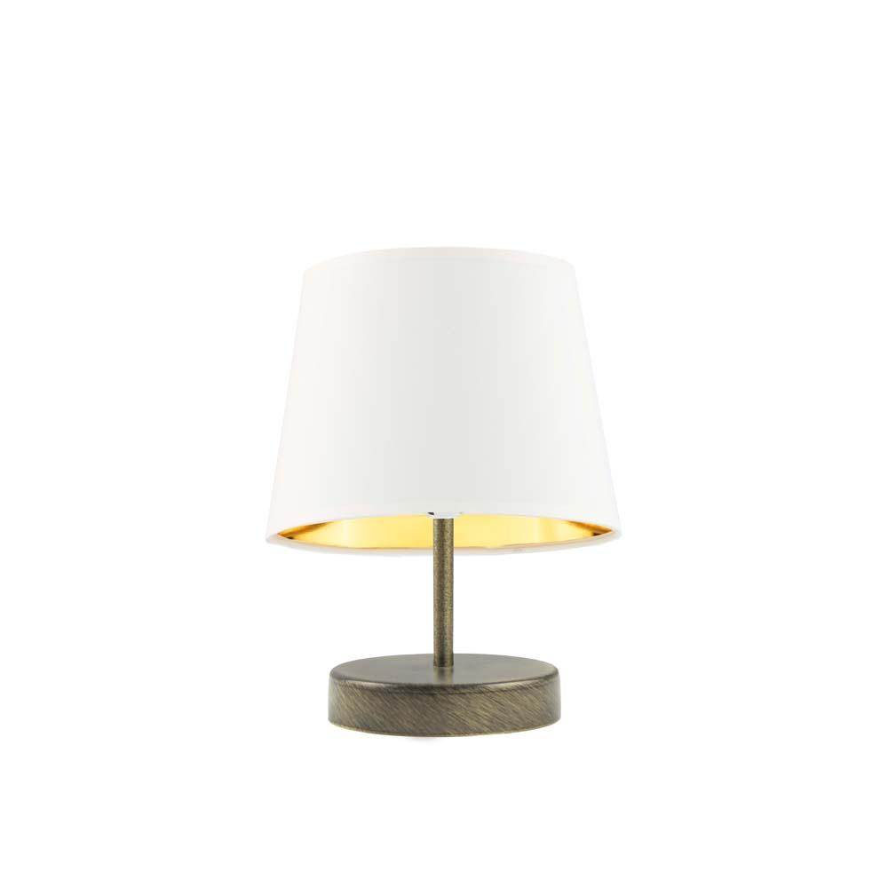 ALMADA GOLD lamp öökapil