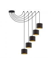Designerska lampa wisząca pająk WAIKIKI W5 GOLD